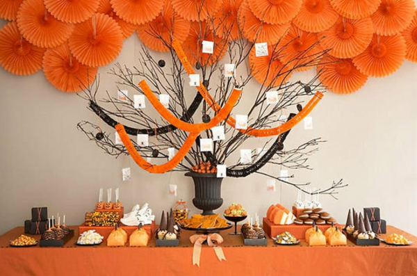 halloween-party-ideen-in-orange