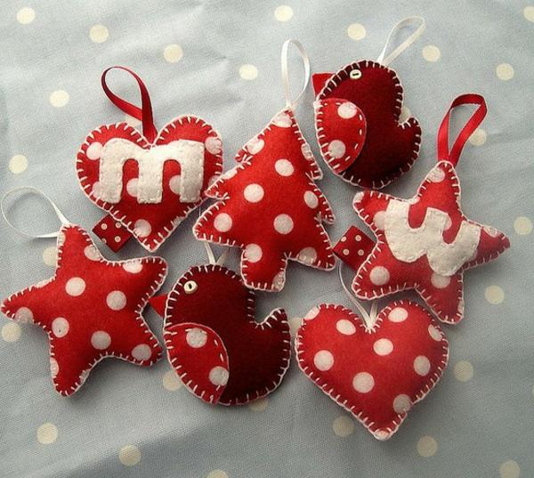 handgemachte-Dekoration-für-den- Weihnachtsbaum-Ideen