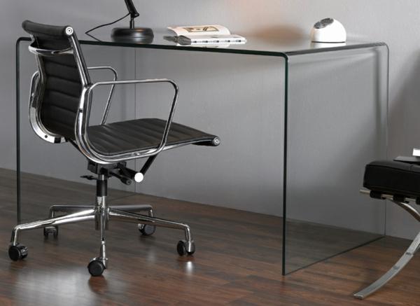 interessante-Modelle-Schreibtische-mit-Glasplatte-im-Büro