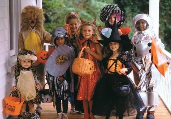 halloween verwandlungen von kindern
