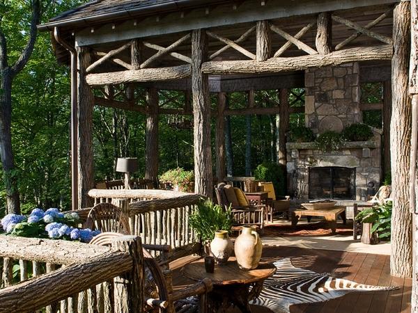 Gartenmöbel Im Landhausstil rustikale gartenmöbel 37 coole modelle archzine