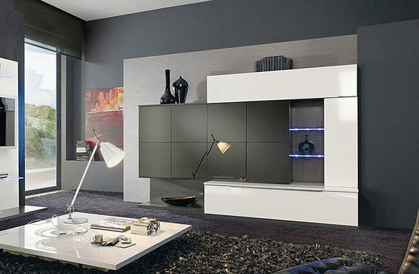 30 fotos von origineller wohnzimmer wandgestaltung. Black Bedroom Furniture Sets. Home Design Ideas