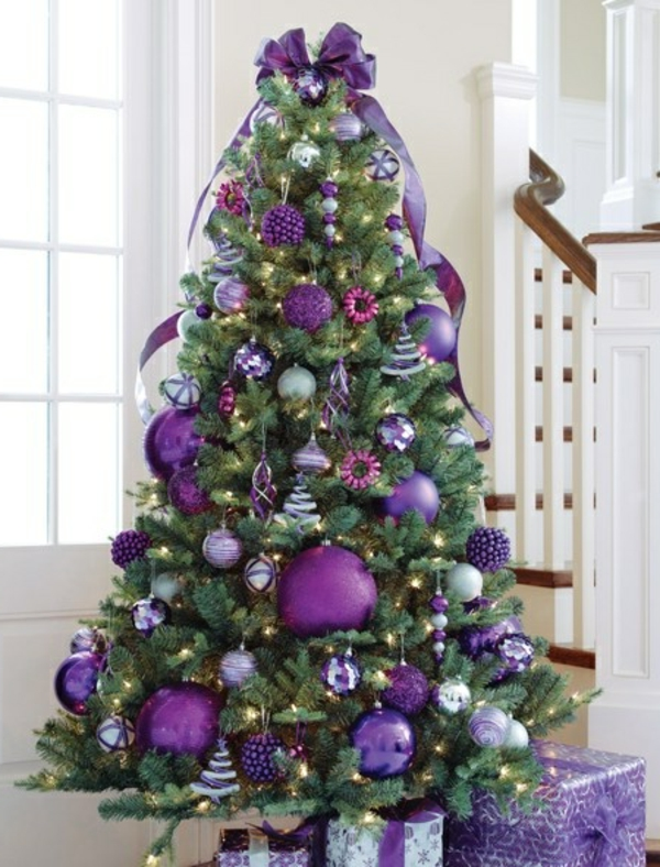 Wundersch ne ideen f r weihnachtsbaum deko for Sapin de noel deja decore