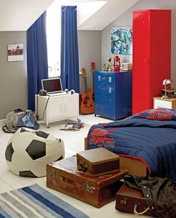 Jugendzimmer Einrichten Fussball : jugendzimmereinrichtenfußballinterieur