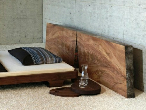 kopfteile fur betten holz. Black Bedroom Furniture Sets. Home Design Ideas
