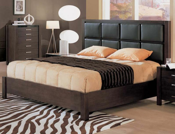 kopfteil f r bett 46 super coole designs. Black Bedroom Furniture Sets. Home Design Ideas