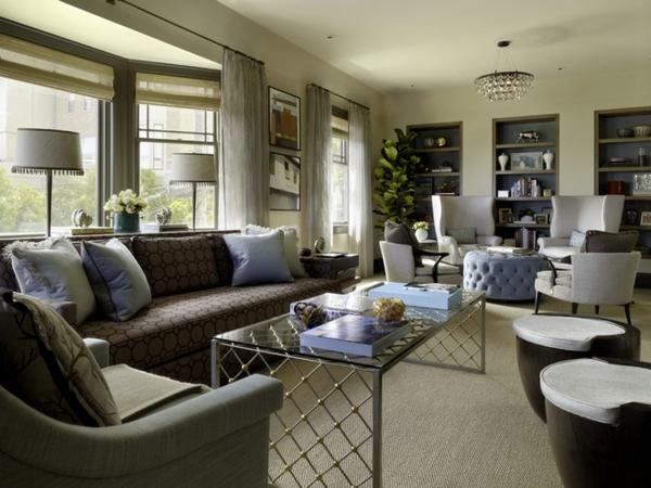 exklusive wohnzimmer ideen