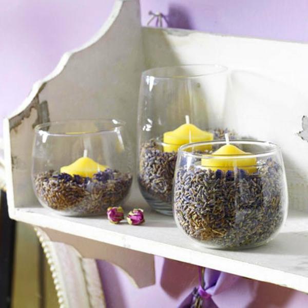 Lavendel deko 34 unglaubliche ideen for Studentenzimmer dekorieren