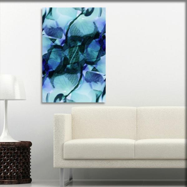 leinwandbild-hortensie-in-blau