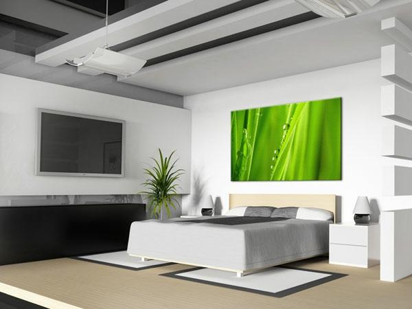 Leinwandbilder f r eine kreative wohngestaltung - Leinwandbilder schlafzimmer ...