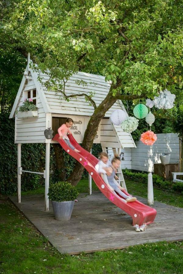 Holzhaus Garten Kind war gut ideen für ihr wohnideen