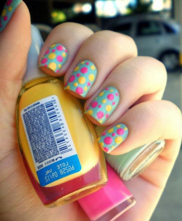 lustiges-Design-Fingernägel-Design für Fingernägel