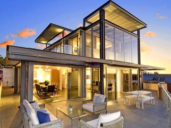 luxus-penthouse-moderne-architektur-glaswände