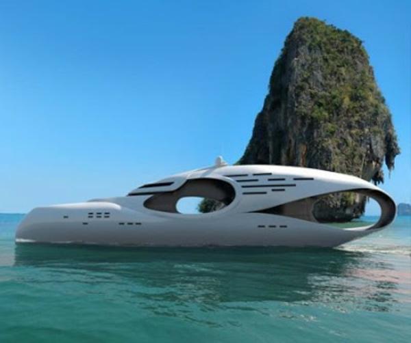 luxus yachten-einmaliges-modell