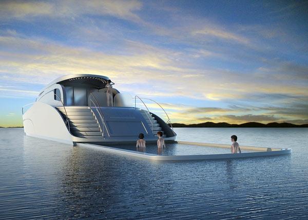 luxus yachten-moderne-gestaltung