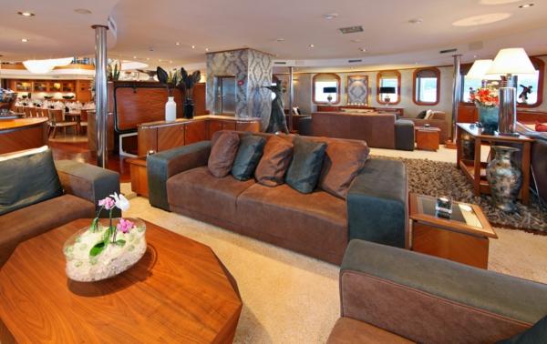 luxus yachten-schöne-innengestaltung