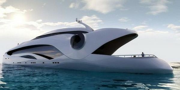 luxus yachten-wie-einen-wal-aussehen