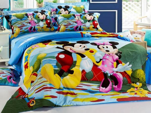 mickey-and-minnie-mouse-Mickey-Maus-Bettwäsche