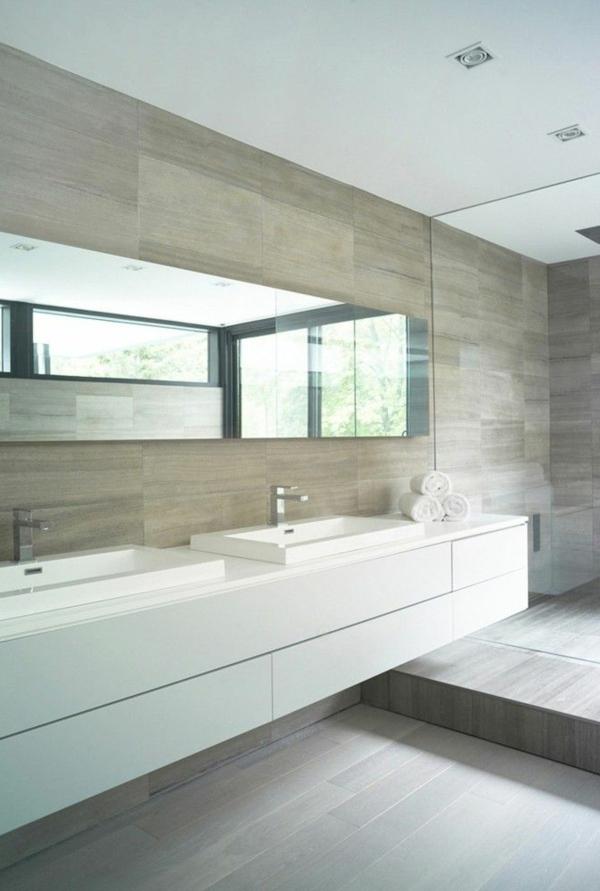 minimalistische modere-Badezimmer