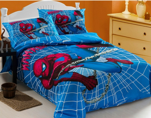 Coole Spiderman Bettwäsche Archzinenet