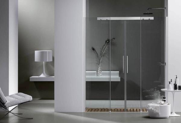 duschkabine aus glas moderne beispiele. Black Bedroom Furniture Sets. Home Design Ideas