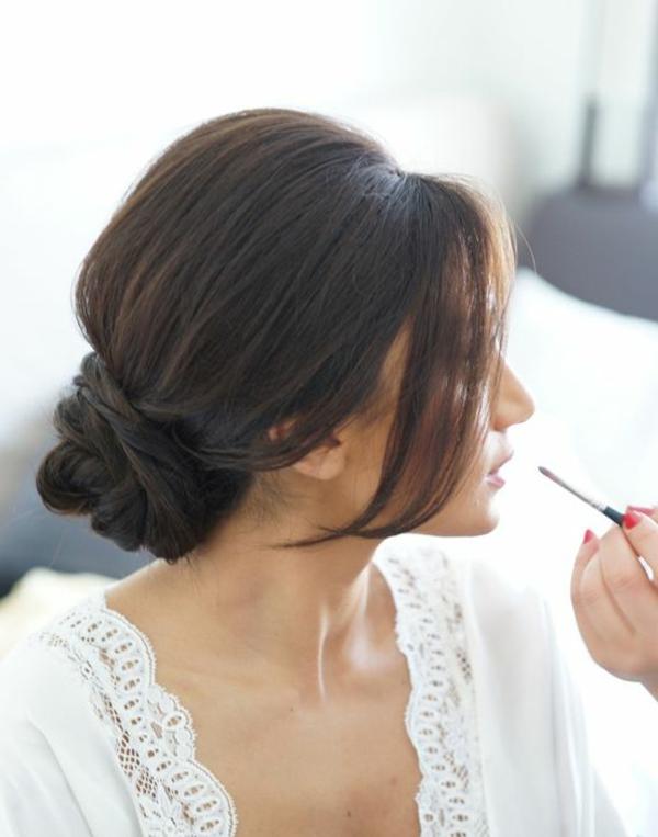 moderne-Frisuren-für-Frauen -Brautfrisur