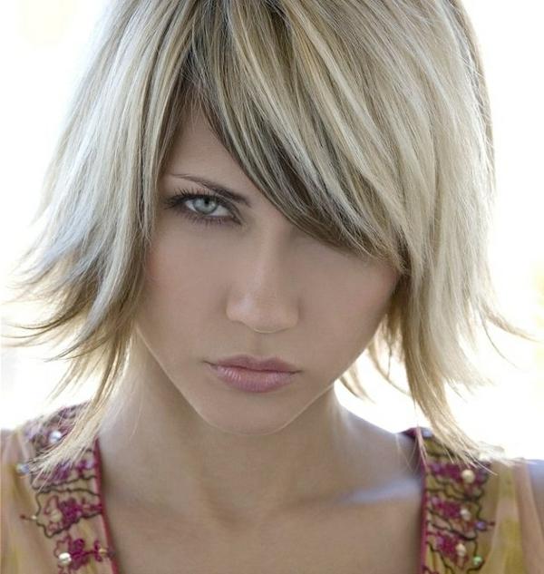moderne-Frisuren-für-Frauen -für-kurzes-Haar