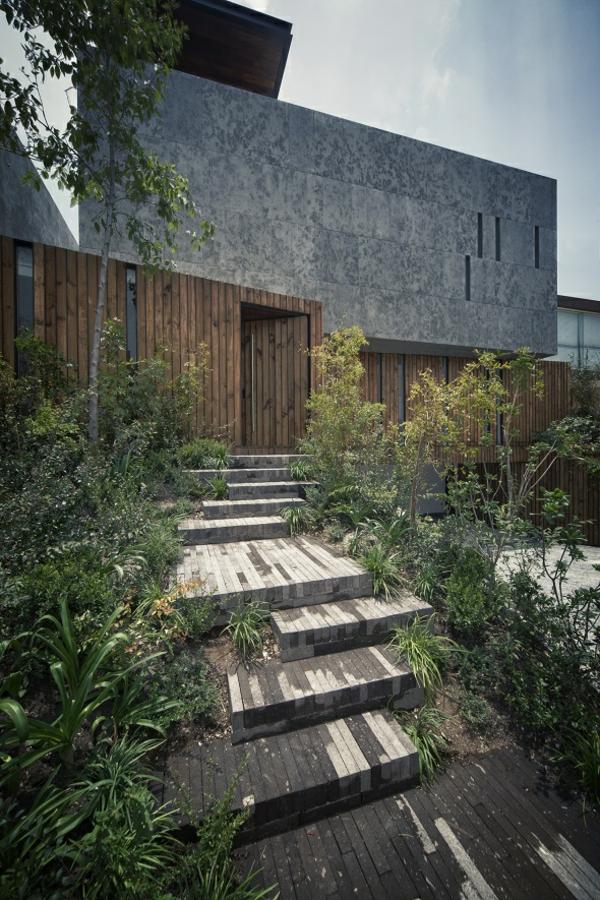 ein haus der sch nheit von taller hector barroso in mexiko. Black Bedroom Furniture Sets. Home Design Ideas