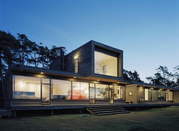 Ferienhaus in schweden 53 fantastische bilder for Architektur moderne
