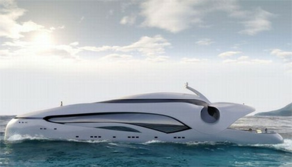moderne-aussehen-luxus yachten
