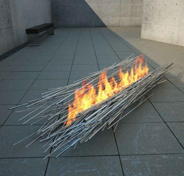 Feuerstellen Garten: Feuerstelle Im Garten