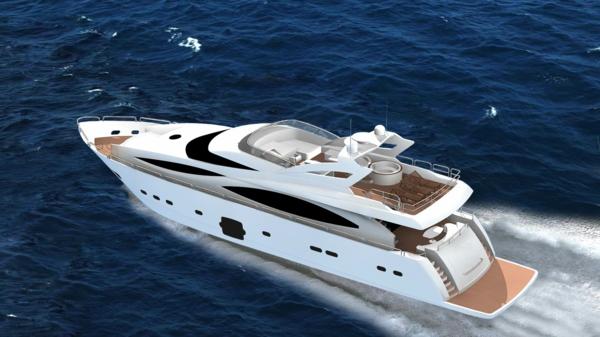 moderne-luxus yachten