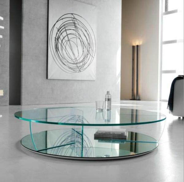 glastisch wohnzimmer wohndesign und inneneinrichtung. Black Bedroom Furniture Sets. Home Design Ideas