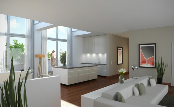 Penthousewohnung - 64 faszinierende Fotos! - Archzine.net