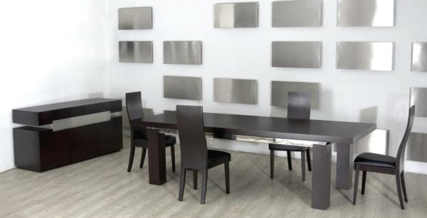 Moderne Stühle Für Esszimmer Dunkel Farbe