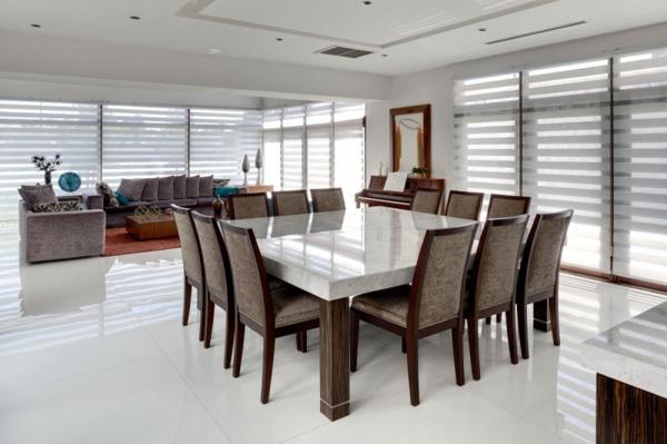 weißer esstisch und stühle | möbelideen, Esszimmer dekoo