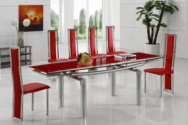 moderne-stühle-für-esszimmer-in-rot