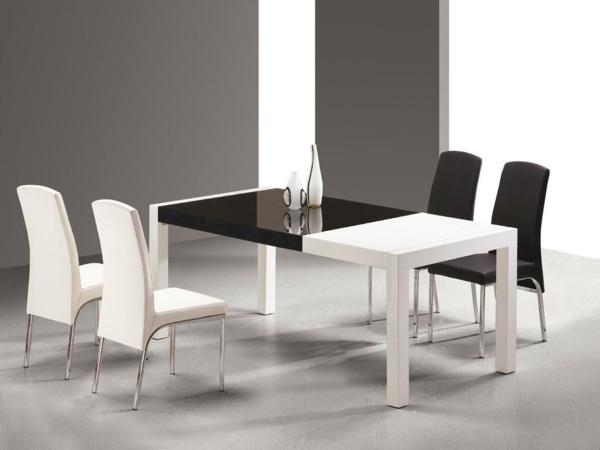 moderne-stühle-für-esszimmer-kontrastierende-farben-auswählen