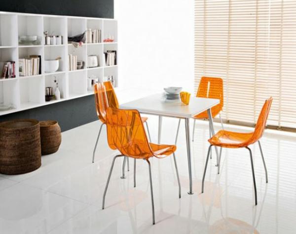 moderne-stühle-für-esszimmer-mit-jalousien