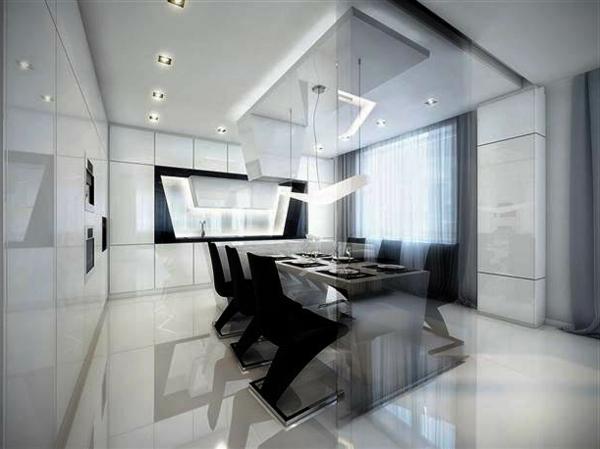 die elegante ausstrahlung vom modernen esszimmer design