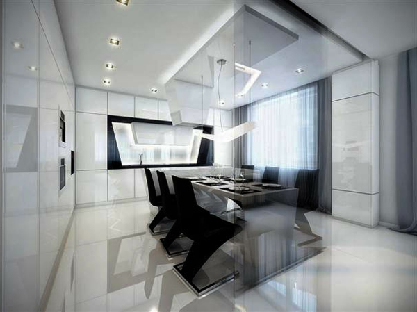 120 bilder moderne st hle f r esszimmer for Designer stuhle esszimmer