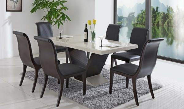 Stühle modern esszimmer schwarz  Stühle Schwarz Esszimmer - Badezimmer 2016