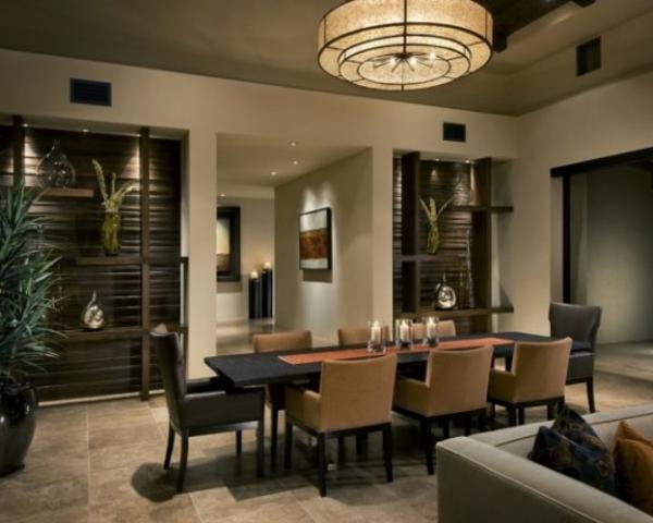 Moderne Esszimmermöbel Ideen farbige akryl stühle