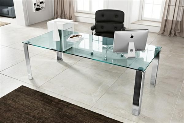moderner-Schreibtisch--Glas-Büro-Design