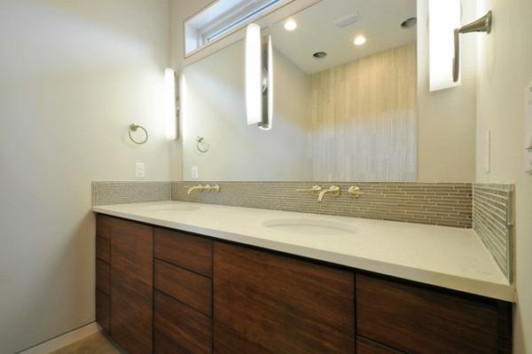 modernes-badezimmer-Unterschrank-Bambus
