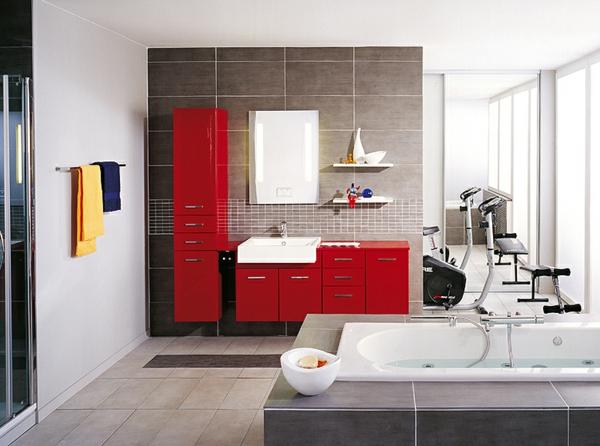 modernes-badezimmer-design-einrichtungsideen-rote-schränke