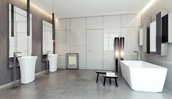 modernes-elegantes-Badezimmer-