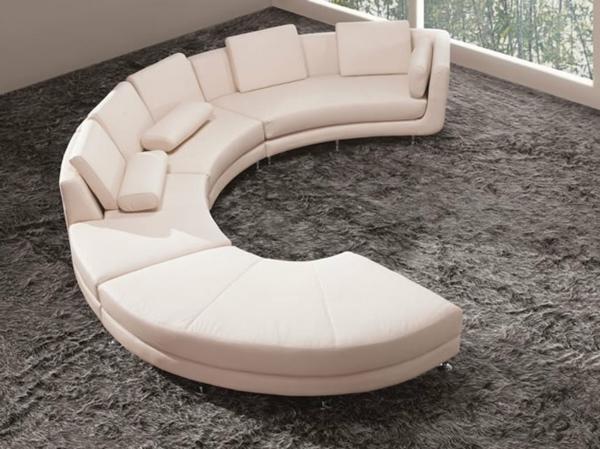 Wundersch ne vorschl ge f r ein halbrundes sofa for Kleines rundes sofa