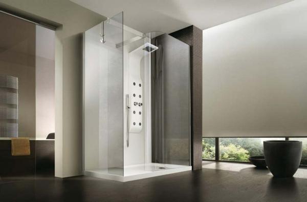 badewanne eingemauert modern moderne badezimmergestaltung