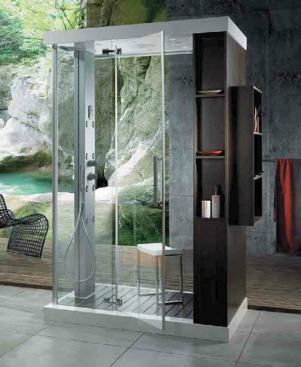 Runde Dusche Glasbausteine : Moderne Fertigduschkabinen – das sind richtige Eyecatcher!